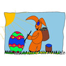 easter bunny spring